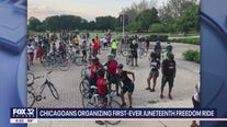 Chicagoans holding first-ever Juneteenth bike ride through the city