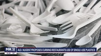 Ald. Nugent proposes curbing restaurants use of single-use plastics