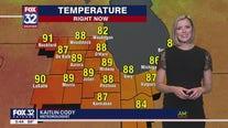 6 p.m. forecast for Chicagoland on June 17