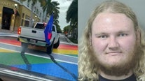 Arrest made after video surfaces of South Florida Pride mural being vandalized