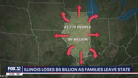 Illinois residents leaving the state in droves, data shows