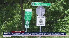 Man sexually assaults 16-year-old girl on Illinois bike path, police say