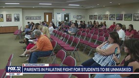 Parents in Palatine fight for students to be unmasked