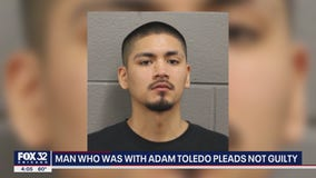 Man with Adam Toledo the night he was fatally shot by police pleads not guilty to gun charges