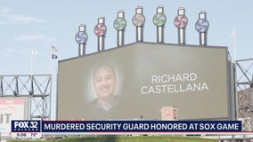 Security guard killed during Gary bank robbery honored at White Sox game