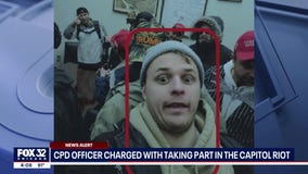 Chicago police officer arrested, charged for breaching U.S. Capitol