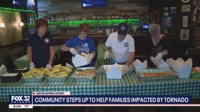 Suburban community steps up to help those impacted by EF3 tornado