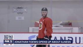 Blackhawks captain Jonathan Toews opens up about his chronic illness