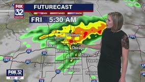 10 p.m. forecast for Chicagoland on June 17