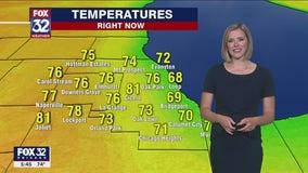 6 p.m. forecast for Chicagoland on June 16