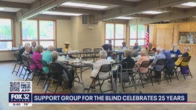 Blind suburban couple hosts support group for visually impaired