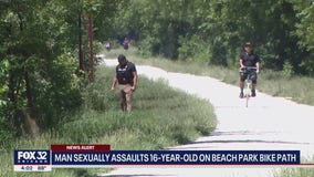 16-year-old girl sexually assaulted on Illinois bike path