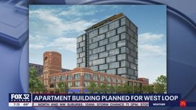 Developers submit proposal for new West Loop apartment building