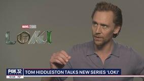 Tom Hiddleston talks new series 'Loki'