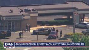 Gary bank robbery suspects acquainted through MidStates Football League, FBI says