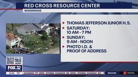 Woodridge Red Cross Center helping with tornado relief