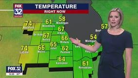 10 p.m. forecast for Chicagoland on June 16