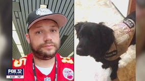 Disabled veteran says he was booted off Chicago flight because of his service dog