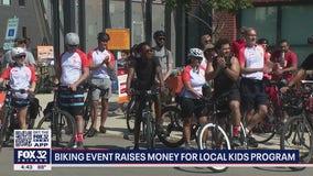 Biking event in Chicago raises money for local kids program