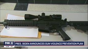 Pres. Biden announces gun violence prevention plan