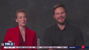 Chris Pratt, Yvonne Strahovski talk new film 'The Tomorrow War'