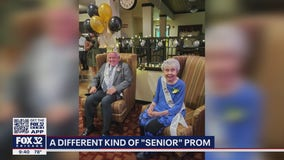 Retirement community holds 'Senior Prom' for residents to celebrate pandemic restrictions loosening