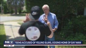 Kids accused of yelling slurs, egging home of gay man in Skokie