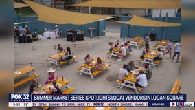 Summer market series showcases local vendors in Logan Square