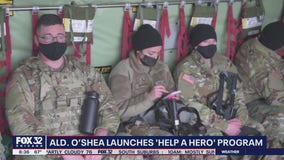 Ald. O'Shea launches 'Help A Hero' program to assist military veterans