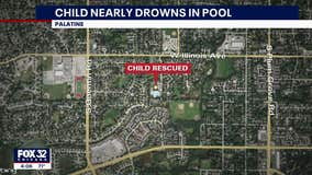 Palatine lifeguard rescues child from drowning in community pool