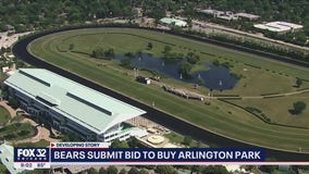 Lightfoot rips into Bears for placing bid to buy Arlington racetrack