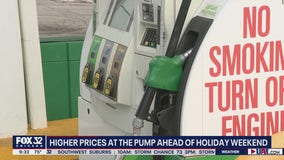 Gas prices rising ahead of July 4th weekend