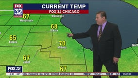 Morning forecast for Chicagoland on June 10th