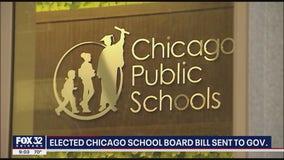 Elected Chicago school board bill sent to Pritzker