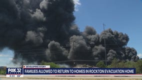 Families allowed to return to homes in Rockton following evacuation