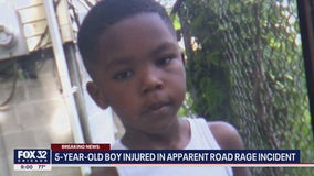 5-year-old boy struck by car during road rage incident in Chicago