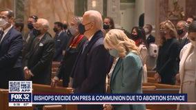 Catholic bishops may ban Biden from receiving Holy Communion