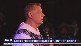Chicago's Rev. Michael Pfleger holds first Mass since reinstatement