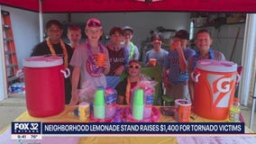 Suburban kids raise $1,400 for Red Cross after EF3 tornado