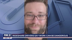 Rideshare drivers speak out after man is shot while responding to pickup request in Cicero