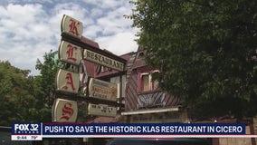 Group hopes to save historic Klas Restaurant in Cicero