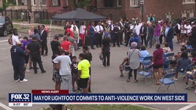 Lightfoot commits to anti-violence work on West Side