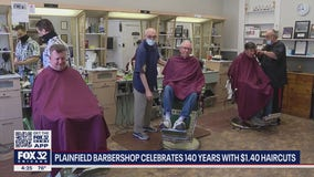 Illinois barbershop celebrates 140 years with $1.40 haircuts
