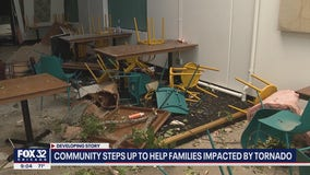 Community steps up to help families impacted by tornado