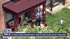 Joliet child dies from self-inflicted gunshot wound