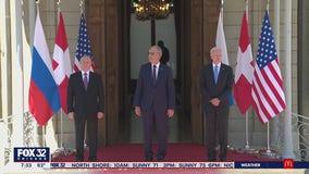 Focus turns to Geneva summit as Biden, Putin meet