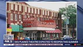 Des Plaines Theatre expected to reopen this summer
