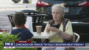 Chicago to join rest of Illinois in fully reopening on June 11