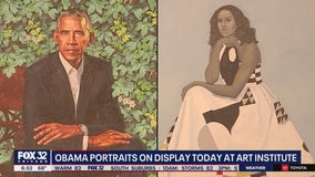 Obama portraits now on display at the Art Institute of Chicago