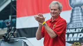2021-2022 will be Chicago Blackhawks announcer Pat Foley's last season in the booth